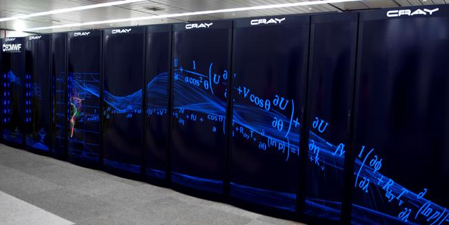 ECMWF Cray Super Computer panel design