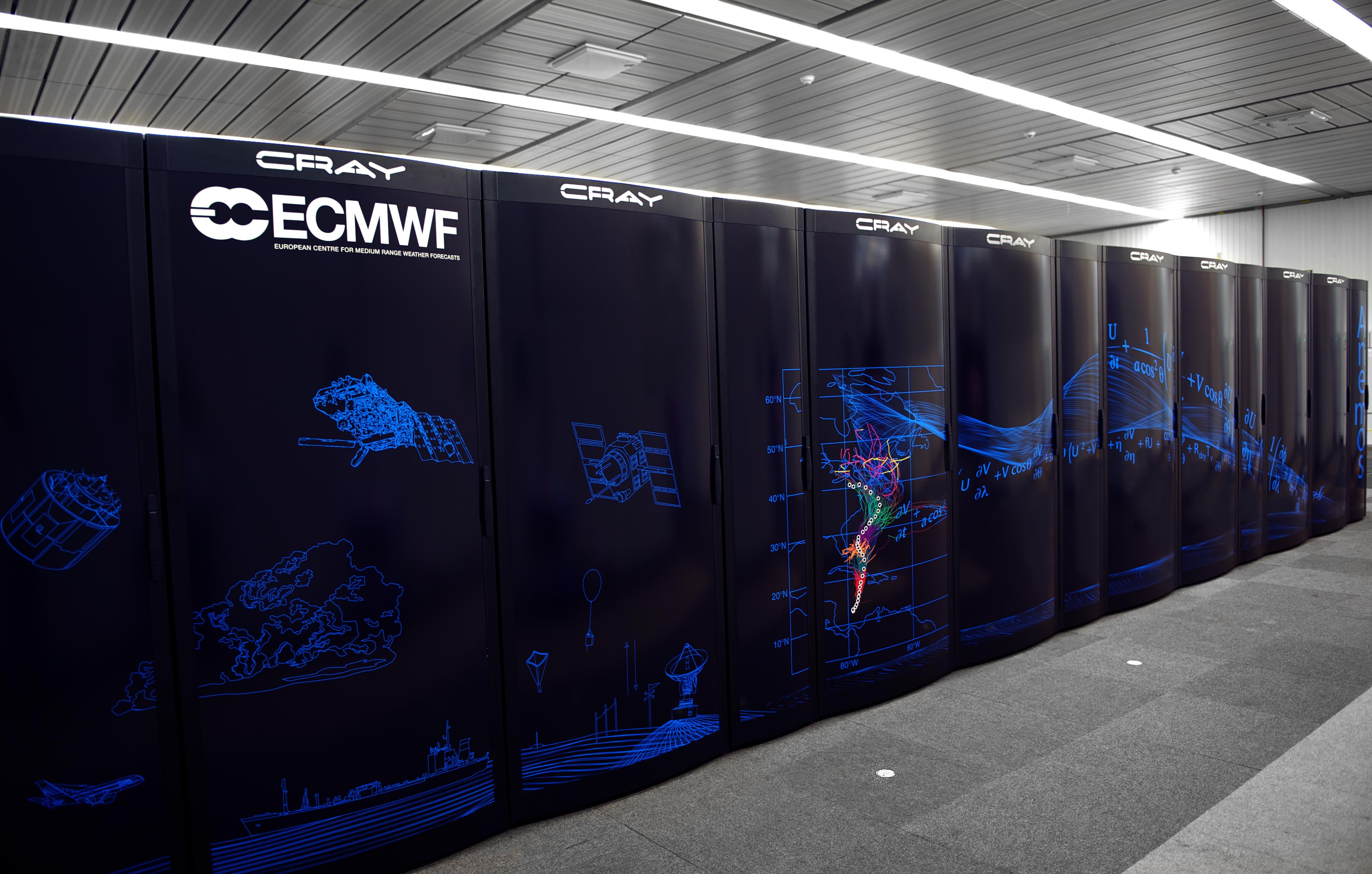 Cray Super Computer ECMWF panel design