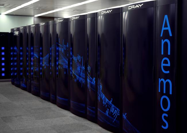 Cray Super Computer at ECMWF