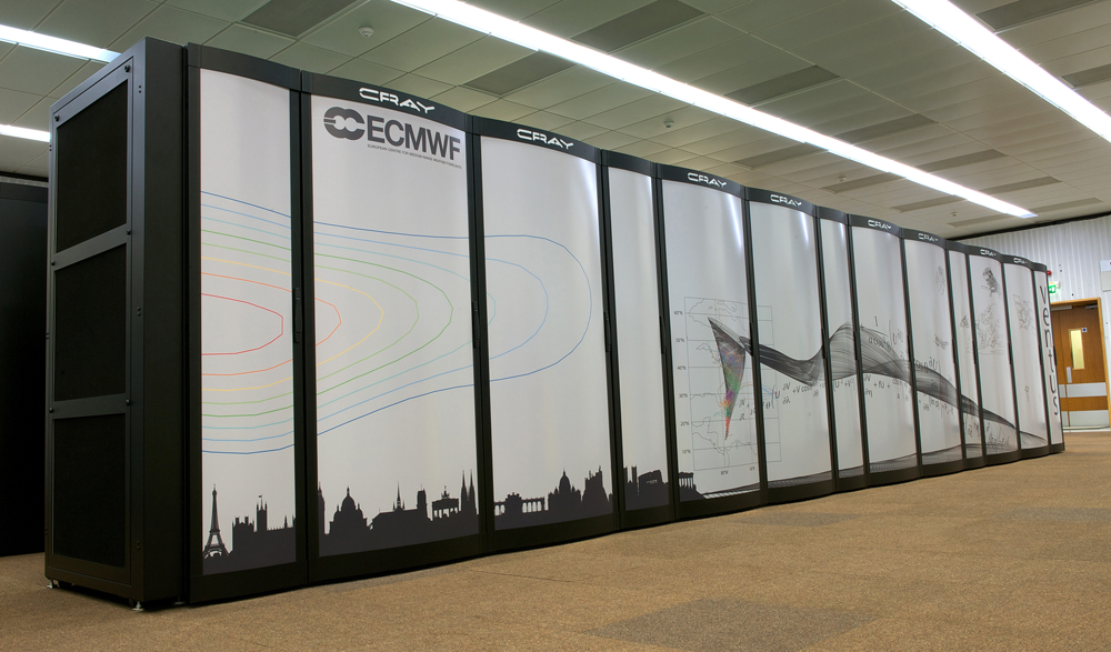 ECMWF Cray Supercomputer
