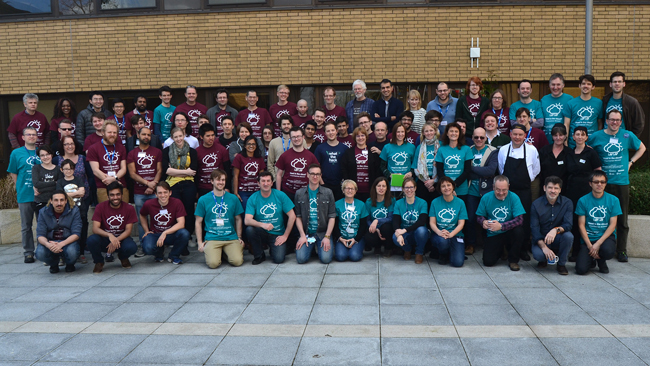 Open data hack group photo
