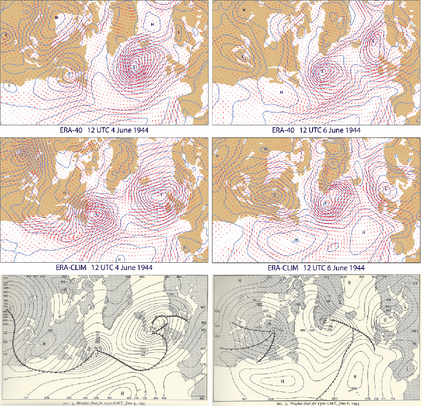D-Day Weather Chart ECMWF