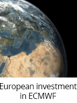 European investment in ECMWF