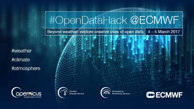 Open Data Hack at ECMWF