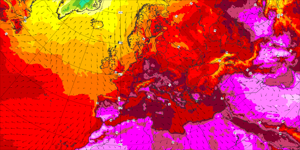 Significant wave height and mean direction