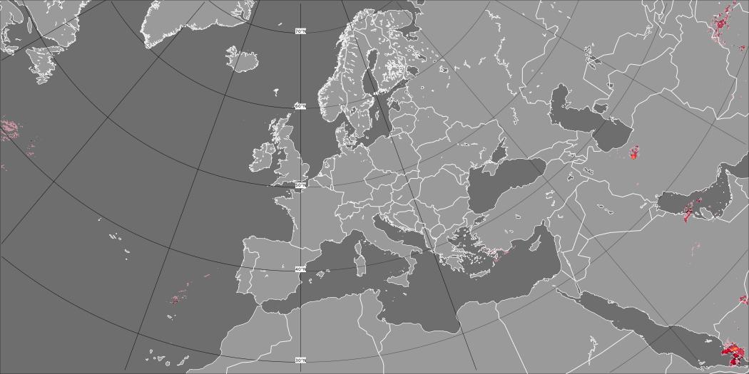 Rain and mean sea level pressure
