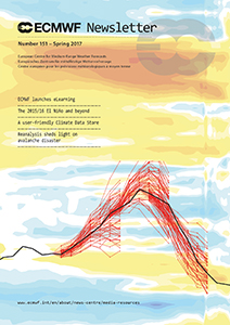 ECMWF Newsletter 151 cover