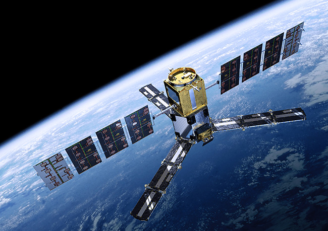 Soil Moisture and Ocean Salinity (SMOS) satellite