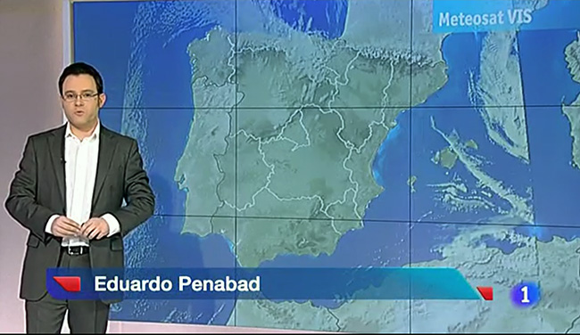 Eduardo Penabad on Spanish TV