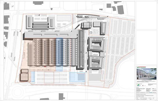 Tecnopolo di Bologna plan