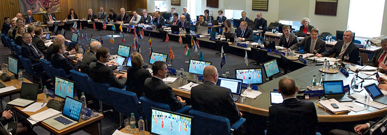 ECMWF council in session