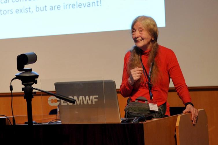 Eugenia Kalnay at the Annual Seminar 2017