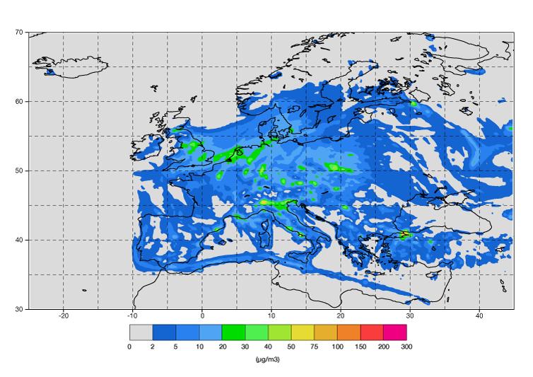 CAMS European air quality ensemble forecast of nitrogen dioxide