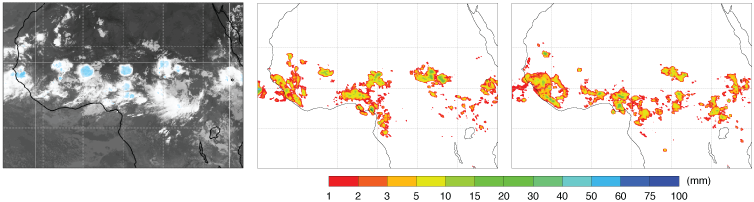 Mesoscale convective systems over equatorial Africa