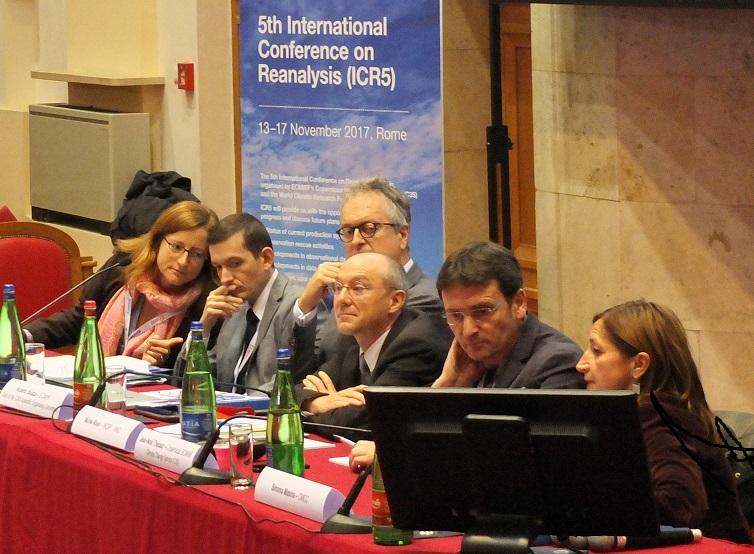 Media briefing at ICR5 in Rome, November 2017