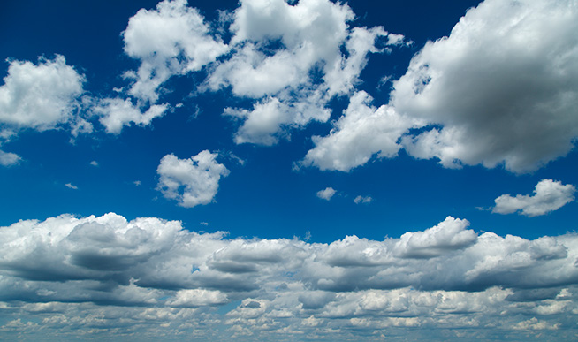 Shallow convective clouds