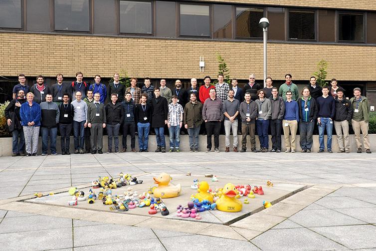 Python workshop November 2017 - group photo