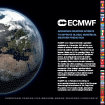 ECMWF Corporate brochure cover