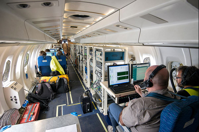 In flight and field surveys, scientists examine the development and distribution of particulate matter over West Africa