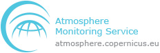 Copernicus Atmosphere Monitoring Service (CAMS) logo