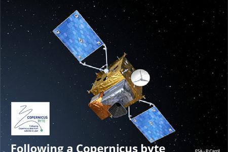 Copernicus byte - Satellite picture