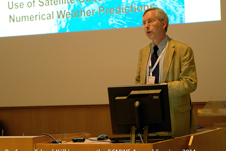 Erland Kallen opens the ECMWF Annual Seminar