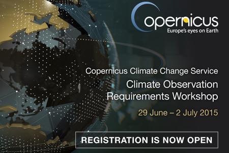 Copernicus Climate Observation Requirements Workshop Image