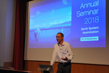 Andy Brown at the ECMWF Annual Seminar 2018