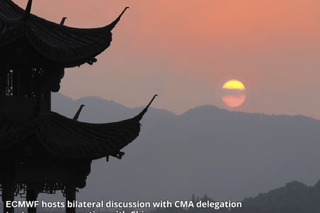 Meeting between ECMWF and CMA
