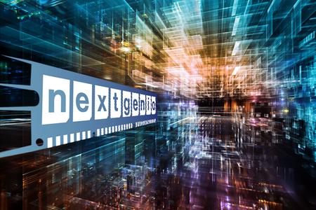 Computing data image with NEXTGenIO logo