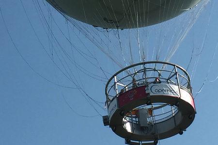Copernicus balloon over Paris