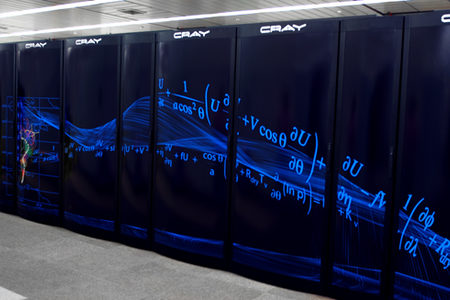 ECMWF Cray Super Computer panel design