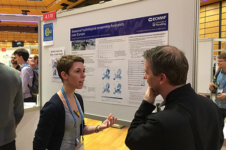ECMWF's Louise Arnal at the EGU General Assembly 2016