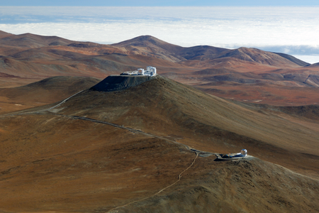ESO telescopes at Paranal