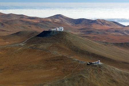 ESO telescopes at Paranal