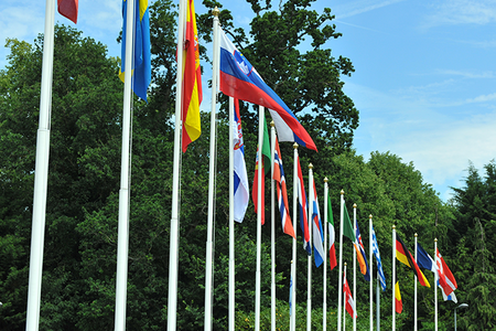 ECMWF Member State flags