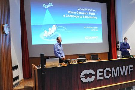 Florian Pappenberger at WCB workshop March 2020