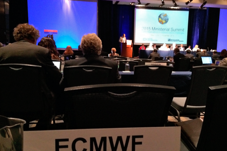 Ministerial Summit for Group on Earth Observations, Mexico, 2015