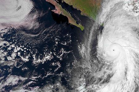 Hurricane Patricia, 23 October 2015