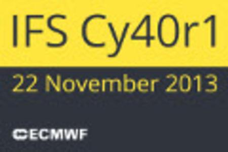 News item image IFS Cy40r1 documentation