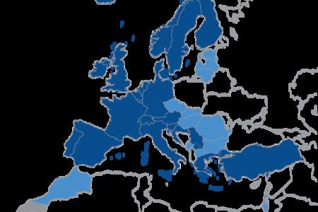 Member states map 2016