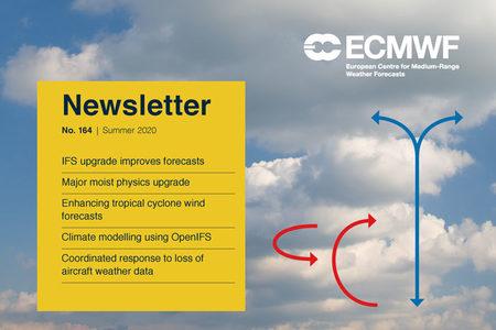 ECMWF Newsletter 164 cover