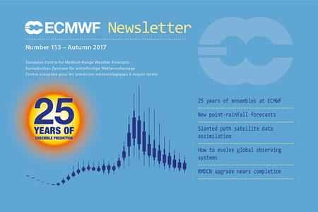 ECMWF Newsletter 153 cover