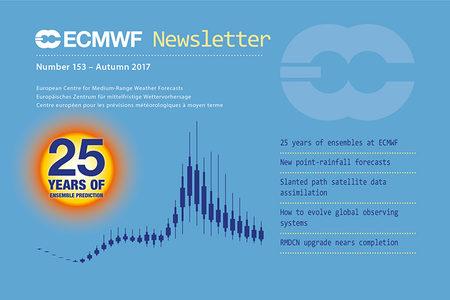 ECMWF Newsletter 153 cover