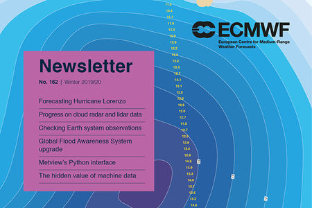 ECMWF Newsletter 162 cover