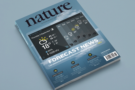 Cover of Nature magazine