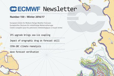 ECMWF Newsletter 150 Cover