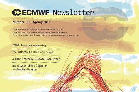 Cover of ECMWF Newsletter No. 151
