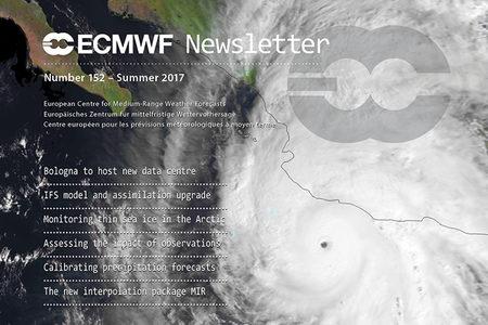 Cover of ECMWF Newsletter No. 152