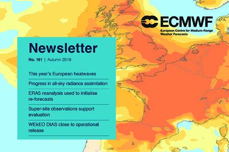 ECMWF Newsletter 161 cover